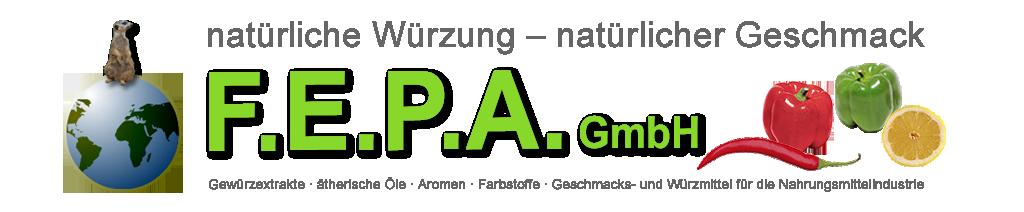 F.E.P.A. GmbH - natürliche Würzung - natürlicher Geschmack
